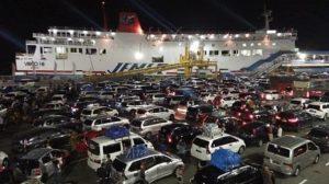 H-5 Natal 2019 Mobil Sudah Menyeberang ke Sumatera Mencapai 10.645