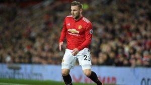 Luke Shaw Puji Kebugaran Tim Manchester United